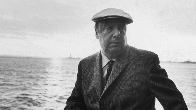 PHOTO: In this picture from 1966, Chilean poet Pablo Neruda leans on a boat during a controversial visit to New York City. An inquiry into the poets death, has stirred up emotions in Chile.