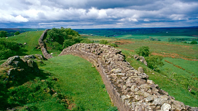 PHOTO: Hadrian's Wall, England, United Kingdom