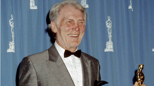 PHOTO: Jack Palance, winner of Best Supporting Actor for 'City Slickers'