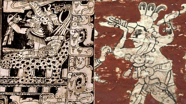 PHOTO: Scriptures on the Mayan monument of Tortuguero state that December 21st 2012, or the end of Baktun 13, will mark the return of Mayan God Bolon Yokte (depicted above). Some western mystics have said this date marks the