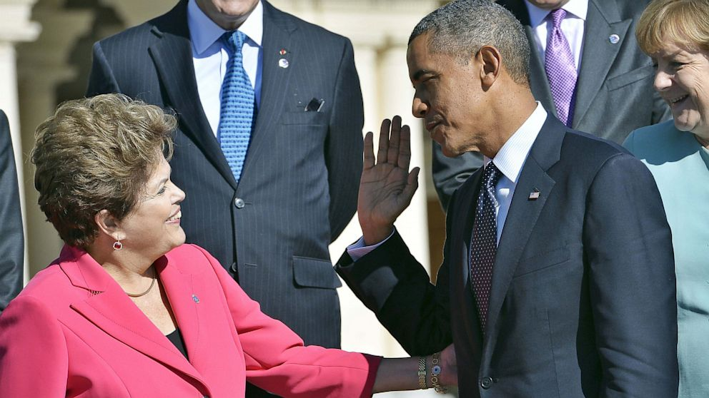 PHOTO: After its been revealed that the N.S.A. spied on Brazilian citizens and companies, the US government has not been able to appease President Dilma Rousseff.