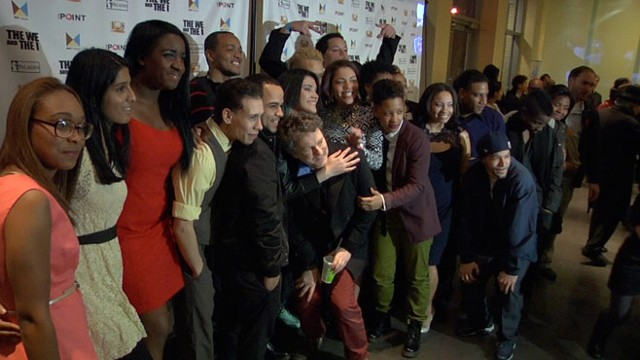 Michel Gondry attended the New York City premiere of The We and the I with his Bronx-based cast.