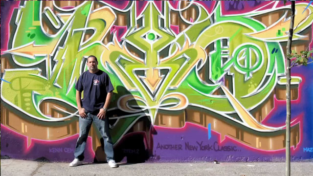 PHOTO: For more than 30 years, Tats Cru has been raising the bar in graffiti art.
