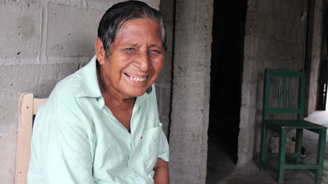 PHOTO: Manuel Segovia, 75, is one of just two confirmed speakers of the Ayapanec language.