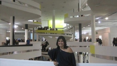PHOTO:Isabella recently moved to Brasil to be the Assistant Curator at the 30th Sao Paulo Biennial. But the 32-year-old has been living abroad for almost a decade.