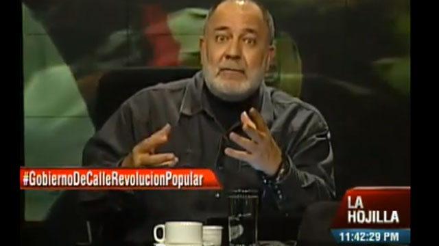 PHOTO: Mario Silva, the host of the Venezuelan talk show, La Hojilla, is a bombastic critic of that countrys opposition. His fiery rhetoric resembles that of Rush Limbaugh, even though his politics are totally different.