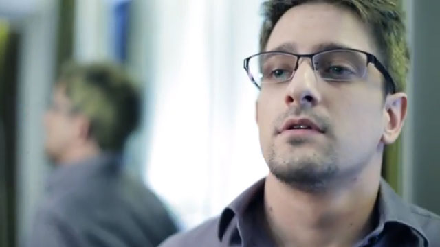 PHOTO:Edward Snowden? Nope, its Andrew Cromeek an American school teacher who plays Snowden in Verax, a new film about the NSA leaker. What sort of ending would you give to a Snowden film?