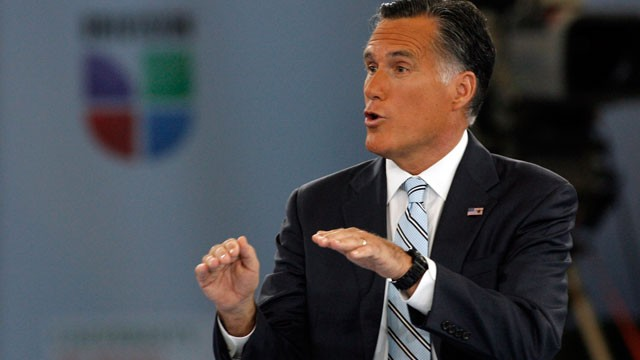 PHOTO:&nbsp;On Wednesday Mitt Romney said that drug use in the U.S. fuels drug violence in Mexico