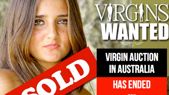 Australian Girl Sells Virginity
