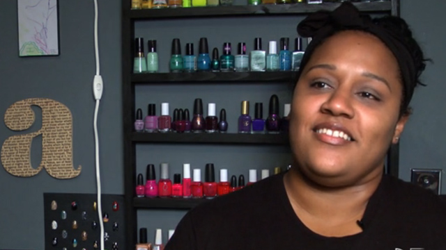PHOTO: Ami Vega dreams of having her own nail salon
