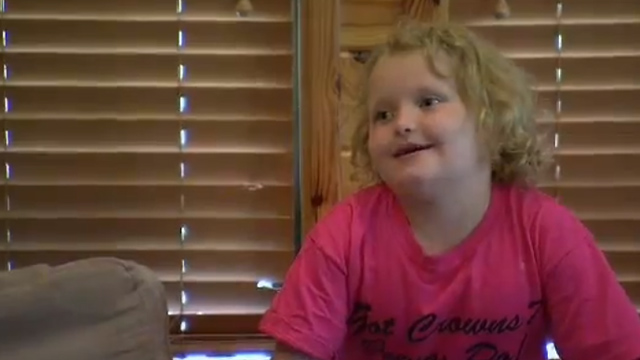 PHOTO:Reality TV star Alana Thompson from 'oddlers & Tiaras' and 'Here Comes Honey Boo Boo'