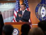 House Speaker John Boehner of Ohio takes a question during a news conference on Capitol Hill in Washington, Thursday, May 23, 2013.