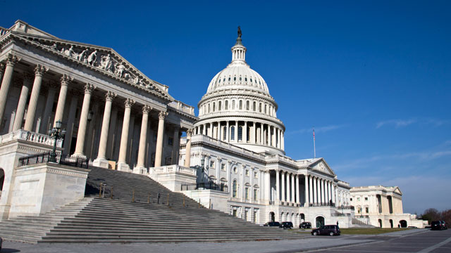 PHOTO: The Capitol is seen in Washington, Thursday, Nov. 29, 2012.