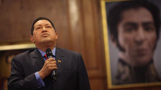 PHOTO: Hugo Chavez Simon Bolivar