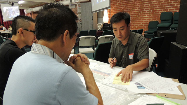 PHOTO: Deferred Action workshop in Korean.
