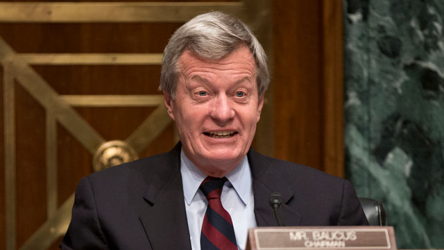 PHOTO:In this April 17, 2013 file photo, Senate Finance Committee Chairman Sen. Max Baucus, D-Mont. is seen on Capitol Hill in Washington.