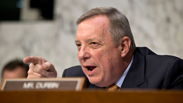 PHOTO: Sen. Dick Durbin