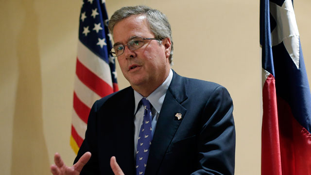 PHOTO: Former Florida Gov. Jeb Bush writes in a new book that the nation needs to completely overhaul its immigration policies but cautions against providing a pathway to citizenship for undocumented immigrants.