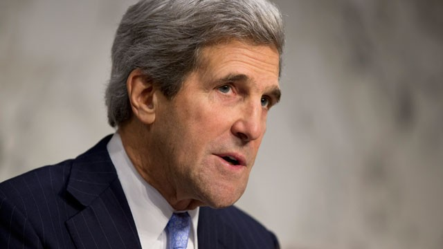 Senate Foreign Relations Chairman John Kerry, D-Mass., leads a hearing on the attack on the U.S. consulate in Benghazi, Libya, where the ambassador three other Americans were killed Sept. 11, on Capitol Hill in Washington.