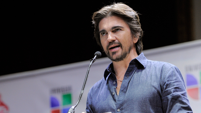 PHOTO:Colombian musician Juanes announces nominations for The XIII Annual Latin Grammy Awards at the Belasco Theater on Tuesday, Sept. 25, 2012, in Los Angeles. The show will be held on Nov. 15 in Las Vegas.