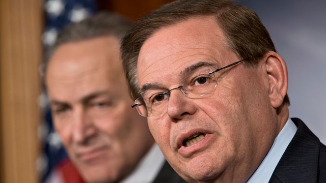 Woman Says She Was Paid to Lie About Claim of Sex with Senator Menendez