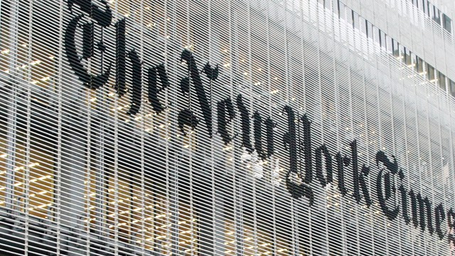 PHOTO: The New York Times building in Manhattan.