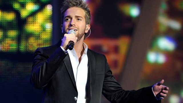 PHOTO:&nbsp;Pablo Alboran at the Latin Grammys