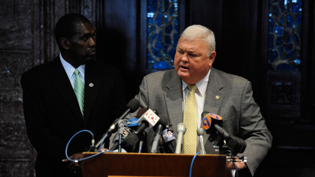 PHOTO: South Carolina Sen. John M. 'Jake' Knotts, Jr., pictured here in 2009.