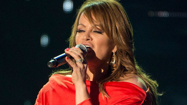 PHOTO: Jenni Rivera rehearsing for the 2012 Billboard Latin Music Awards, at the BankUnited Center in Coral Gables, Fla.