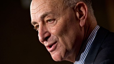 PHOTO: Senator Charles Schumer (D-New York)