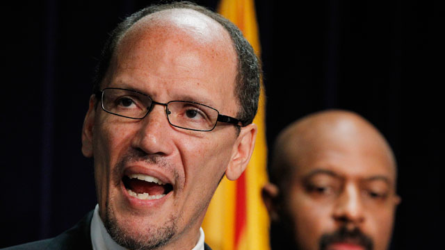 PHOTO: Reports indicate President Barack Obama is close to naming Department of Justice official Thomas Perez as his choice to head the Department of Labor.