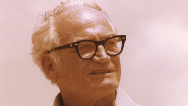 PHOTO: Barry Goldwater was a five-term senator from Arizona and Republican nominee for president in 1964.