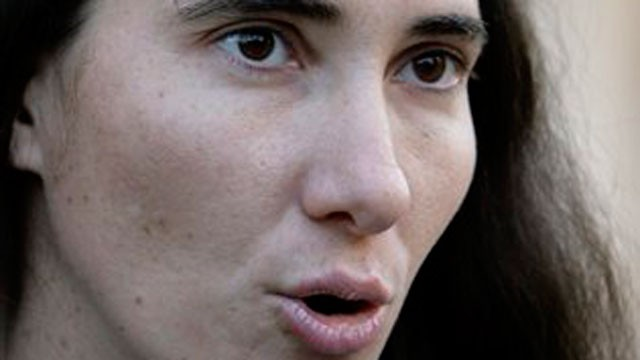 PHOTO: In this March 30, 2011 file photo, Cuban dissident writer Yoani Sanchez speaks with journalists after meeting with former President Jimmy Carter at the Santa Isabel hotel in Havana, Cuba.