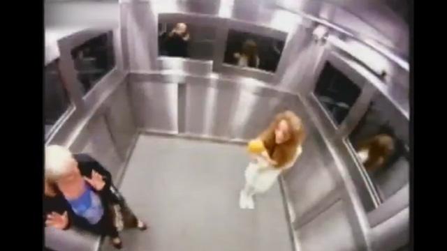 PHOTO:Brazilian elevator prank
