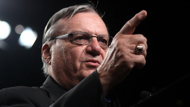 PHOTO:&nbsp;Maricopa County Sheriff Joe Arpaio says placing armed volunteers outside Phoenix-area schools will help limit gun violence.