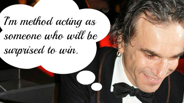 PHOTO: Best Actor nominee Daniel Day-Lewis