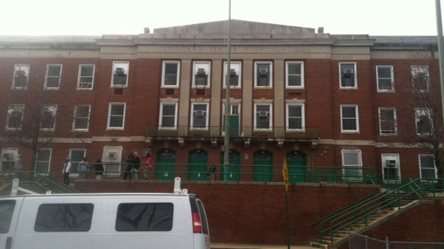 PHOTO: Spingarn High School in Northeast Washington, D.C., will close at the end of the 2012-2013 school year.