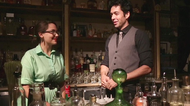 PHOTO: Watch us learn to make cocktails with eggs.