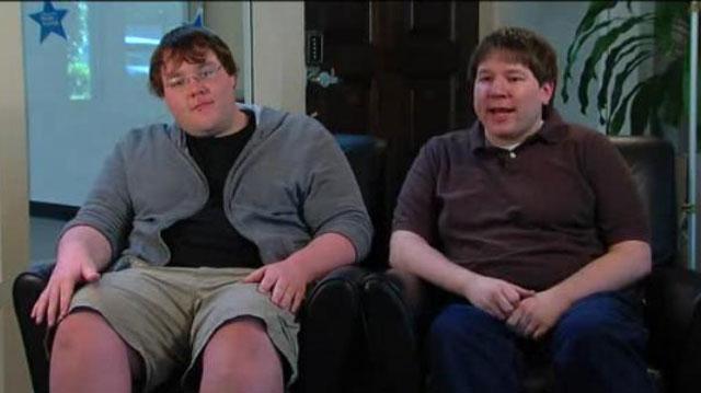 PHOTO:Matthew Keys and his brother, Adam