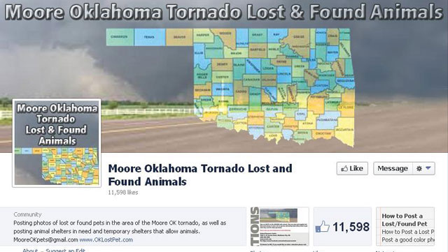 PHOTO:Helping reunite pets and pet owners in OK