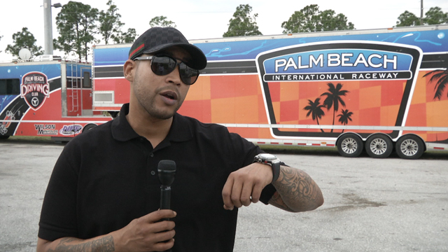 PHOTO: Reggaeton artist Don Omar headlines Drag Mania at Palm Beach International Raceway.