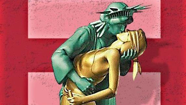 PHOTO:Lady Liberty has a stake in the DOMA debate.