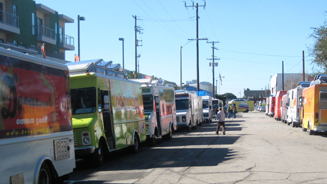 PHOTO: Food trucks in Hollywood were the target of an extortion ring of suspected Mara Salvatrucha gang members.