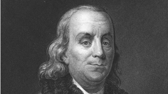 PHOTO: Benjamin Franklin warned that German immigrants might damage the U.S.