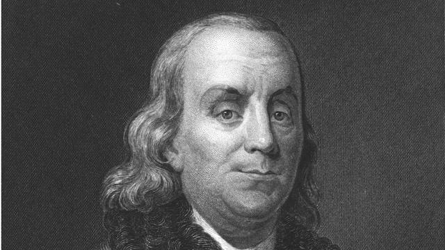 PHOTO:Benjamin Franklin warned that German immigrants might damage the U.S.
