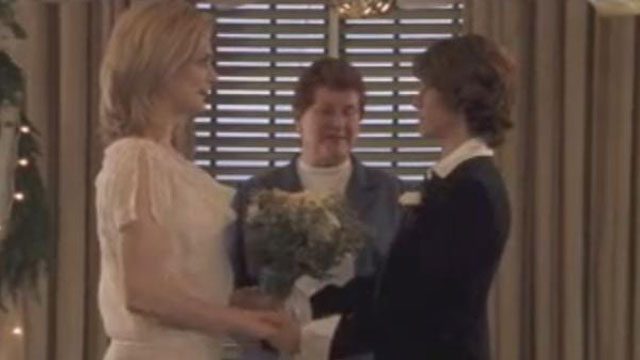 PHOTO: First gay wedding on cable TV