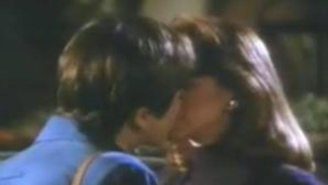 """PHOTO:The kiss that launched a thousand """"lesbian episode"""" kisses"""