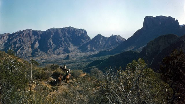 PHOTO: A photo of Big Bend National Park, where the Customs and Border Protection (CBP) intend to build the first unmanned border station on the U.S.-Mexico border