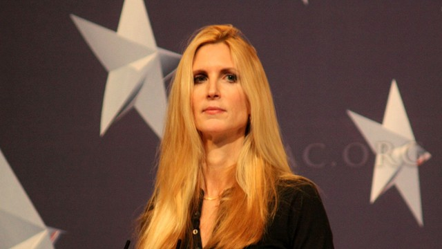 PHOTO:&Acirc;&nbsp;Conservative commentator Ann Coulter cited public intellectual Charles Murray in her attack on Latino voters last week.