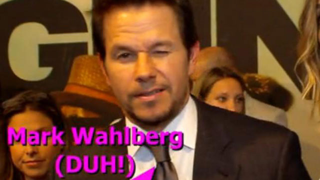 PHOTO: Mark Wahlberg loves me, probably.